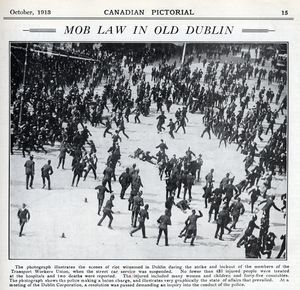 Mob Law in Old Dublin 1913