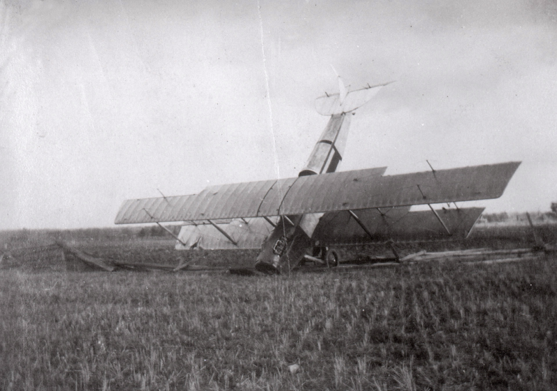 Plane that came down during WW1