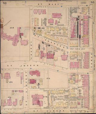 Fire Insurance Plan Toronto 1892