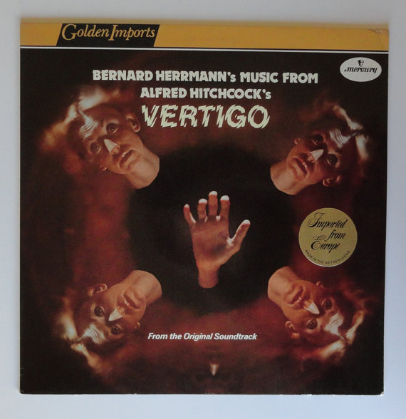 Alfred Hitchcock's Vertigo LP record