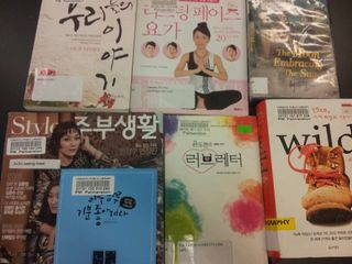 Korean materials at Palmerston Library
