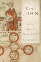 King John and the road to Magna Carta