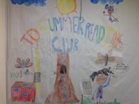 TD Summer Reading Club Mural