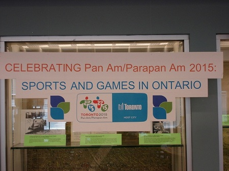 Celebrating Pan Am/Parapan Am 2015 Display