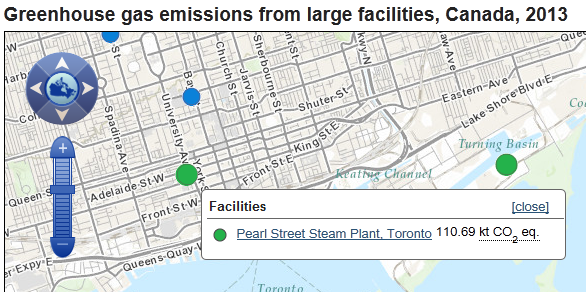 Greenhouse Gases in Toronto