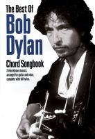 Bob Dylan Chord Songbook