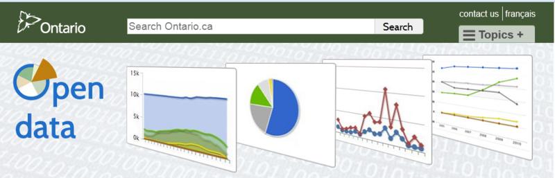Ontario Open data