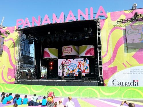Panamania stage