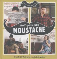 Knit your own moustache