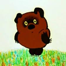 Vinni-Pukh = Winnie the Pooh