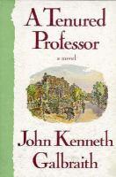 A tenured professor a novel