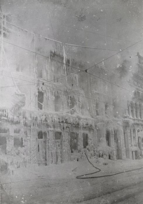 1899 post fire Gowans-Kent China Shop on Front Street