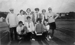 Roselawn Girls Baseball Team