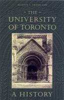 The University of Toronto a history