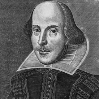 Portrait of William Shakespeare by Martin Droeshout