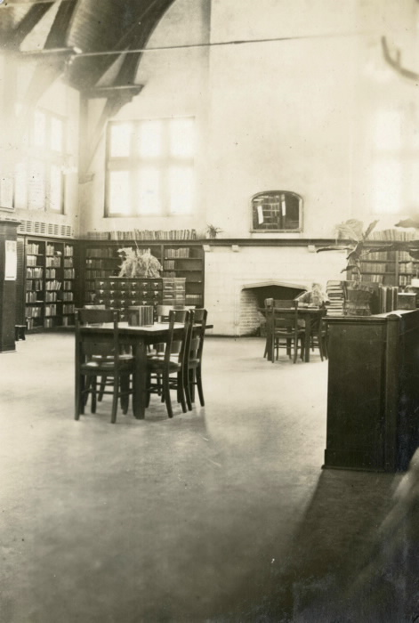 Toronto High Park Library Branch circa 1921-1922 by Muriel Page (later Ffoulkes) was a children's librarian at High Park Branch, Toronto Public Library from 1917 to 1922