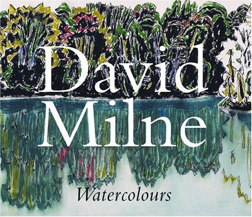 David Milne - watercolours