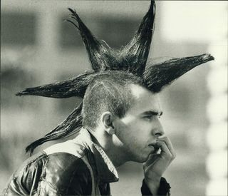Andrew Stawicki Peacock hair