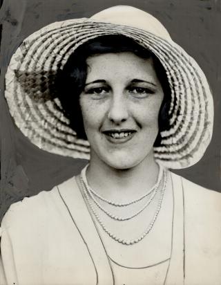 Mrs. Jack Guest, bride1931