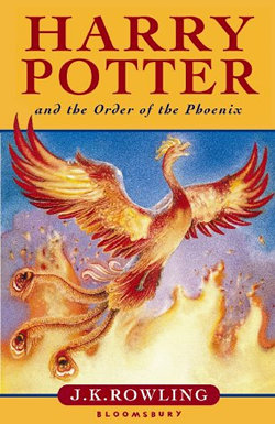 Harry Potter and the Order of the Phoenix by J.K. Rowling Cover Image