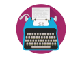 Typewriter_by_superawesomevectors-d9h0pmd