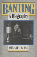 Banting a biography