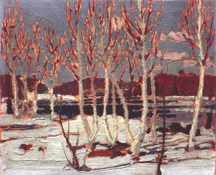 Tom_Thomson,1917,_April_in_Algonquin_Park,21_x_26,5_cm,_Tom_Thomson_Memorial_Art_Gallery