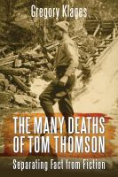 The many deaths of Tom Thomson separating fact from fiction