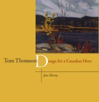 Tom Thomson design for a Canadian hero