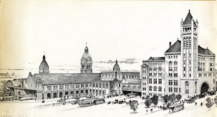 Union Station 1873-1927, Toronto, Ont. September 1894