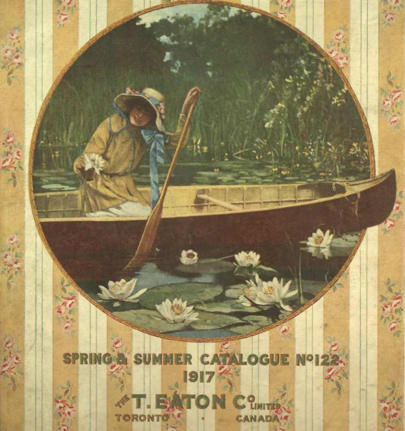 Eaton's Spring and Summer Catalogue 1917