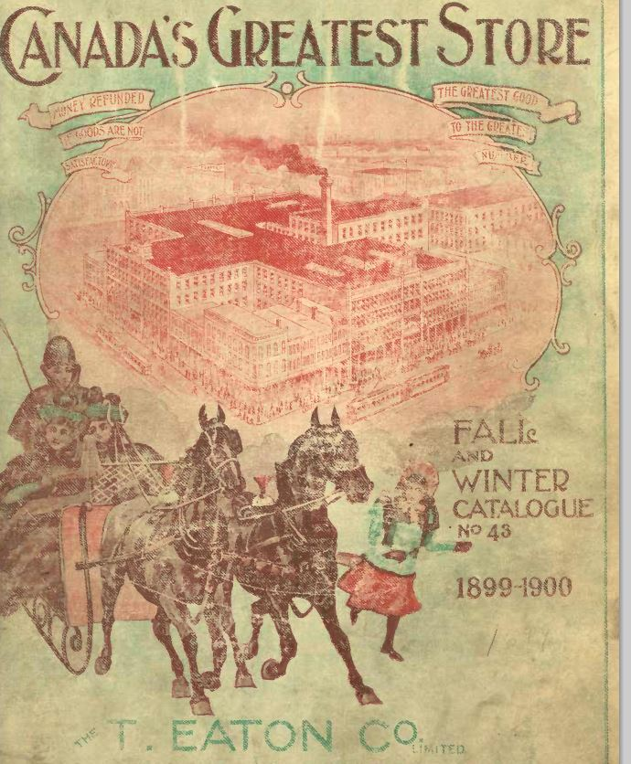 Eaton's Fall and Winter Catalogue 1899-1900