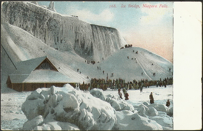 Ice Bridge, Niagara Falls (1910) by S.H. Knox & Co