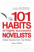 The 101 habits of highly successful novelists