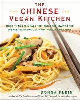 Chinese vegan kitchen