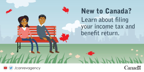 New to canada filing income tax