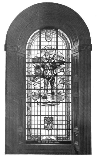 Vimy Memorial Window-Kingston