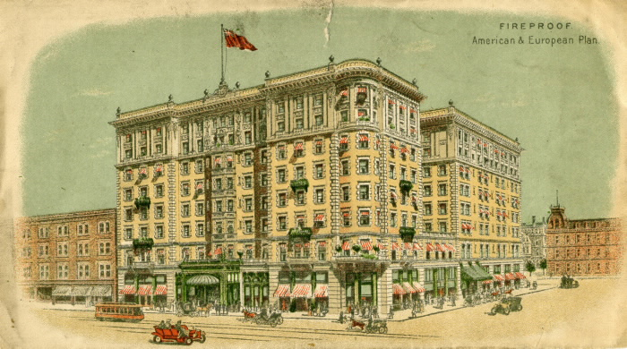 King Edward Hotel Envelope ca-1900-king-edward-vs