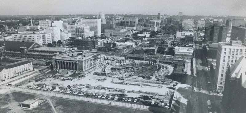 Aug 15 1965 From roof of Victory Building Toronto Star photo