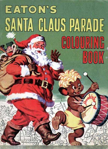 Eaton's Santa Claus parade colouring book