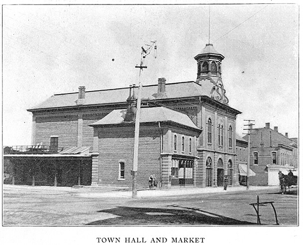 Town Hall and Market