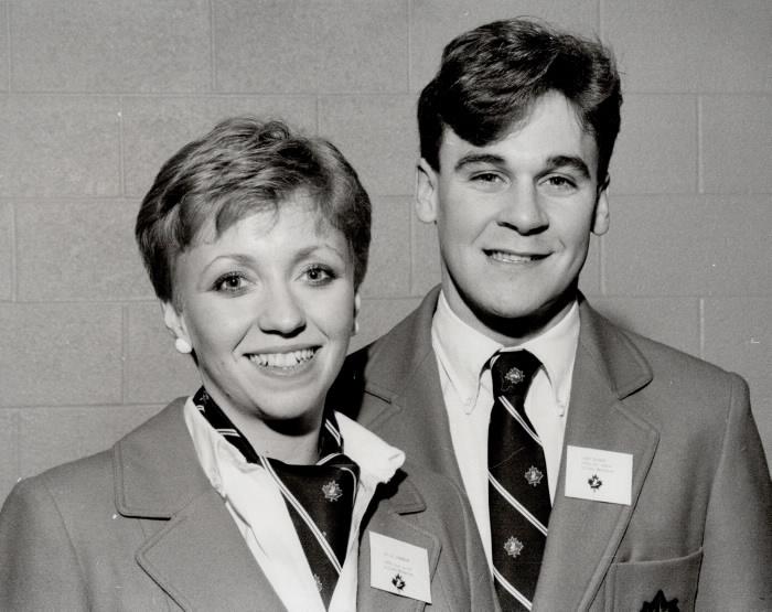 Portraits of Kelly Johnson and John Thomas