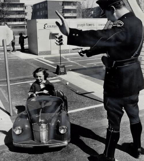 Traffic officer Russ Little