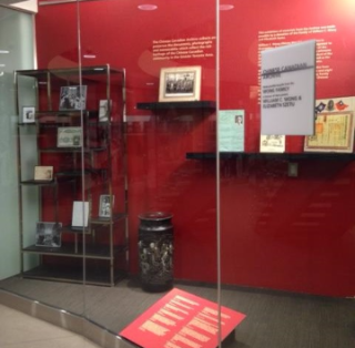 Chinese Canadian archive exhibit at Toronto Reference Library
