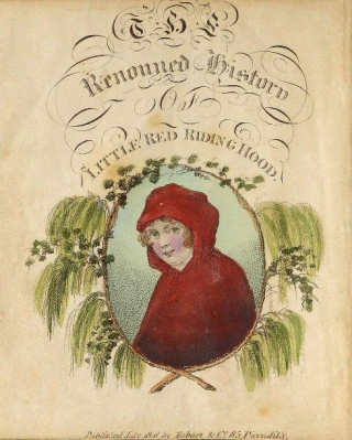 2.The history of Little Red Riding-Hood - in verse. Unknown. eBook  1808