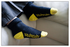 Wednesday Socks