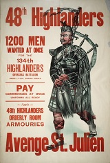 48th Highlanders Poster