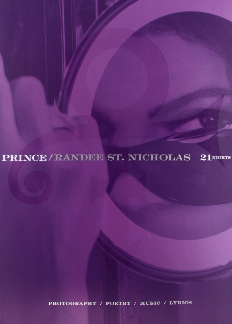 21 Nights Prince - book and CD photography poetry music and lyrics