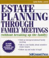 Estate Planning Through Family Meetings