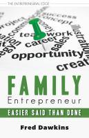 Family Entrepreneur